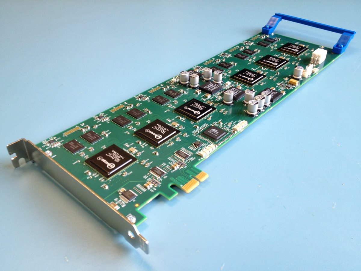 XC6 PCIe Transcoder Card